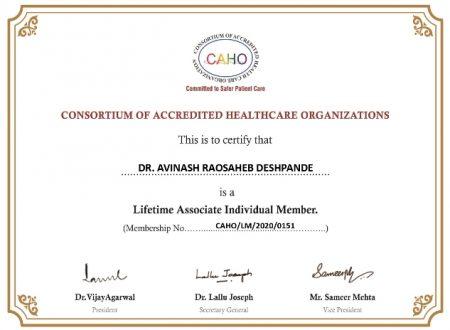 DR. AVINASH RAOSAHEB DESHPANDE